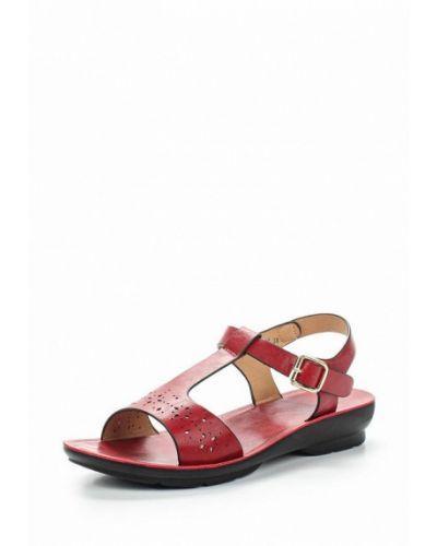 Красные сандалии Zenden Comfort