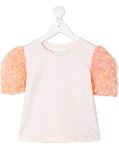 Pomarańczowy t-shirt bawełniany Charabia