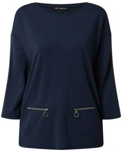 Bluzka z wiskozy - niebieska Betty Barclay