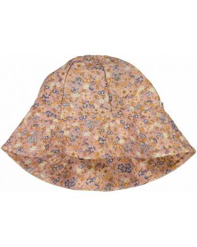 Beżowy kapelusz boho z printem Wheat