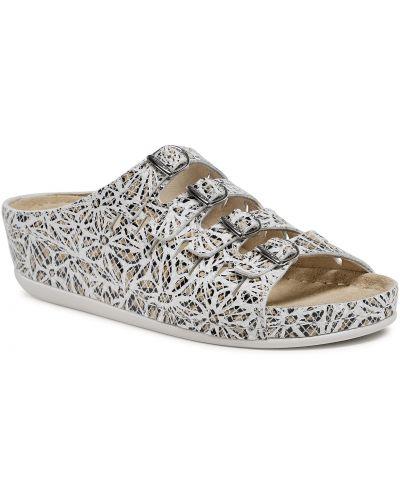 Białe sandały casual Berkemann