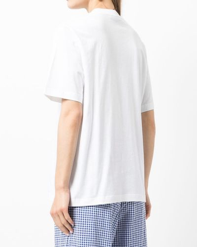 Хлопковая футболка - белая Markus Lupfer