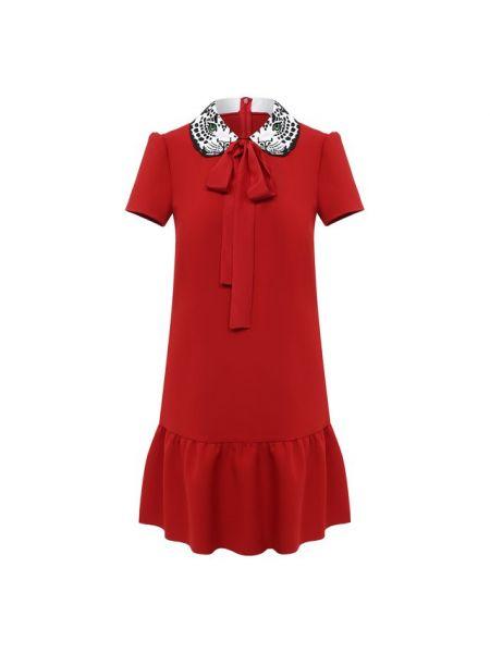 Купальник-платье красное итальянское платье Redvalentino