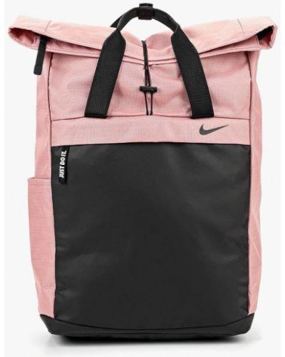 Розовый рюкзак городской Nike
