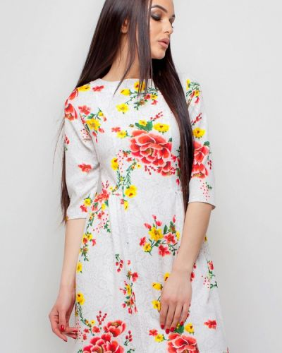 Белое платье весеннее Karree