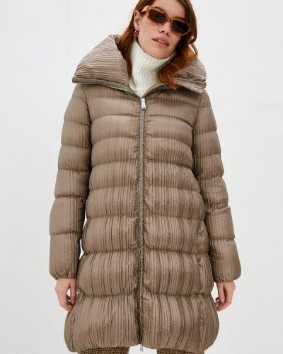 Бежевая зимняя куртка Add