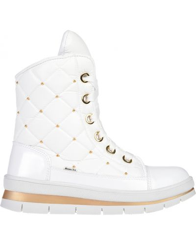 Кожаные ботинки - белые Jog Dog