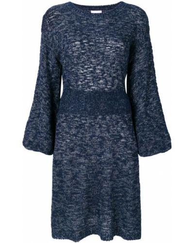 Платье миди из шерсти мериноса See By Chloé