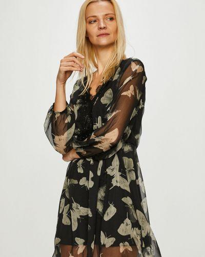 Платье мини с V-образным вырезом с поясом Answear