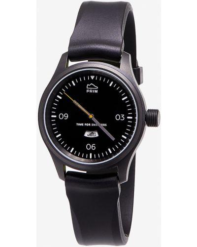 Czarny zegarek Footshop