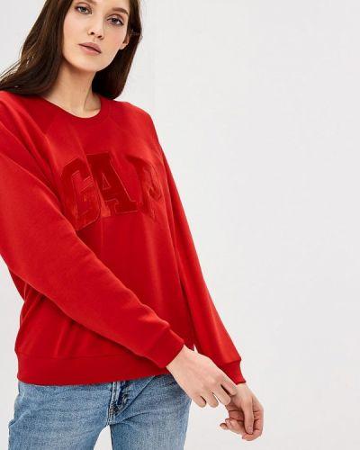 Красный свитшот Gap