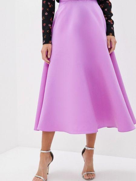 Платье фиолетовый широкое Trendyangel