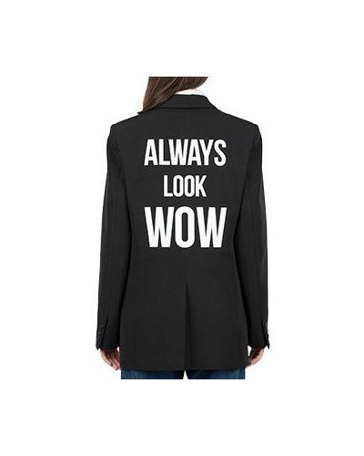 Черный пиджак Seven Lab