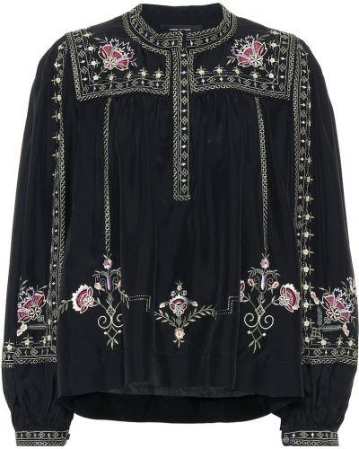Блузка батник с вышивкой Isabel Marant