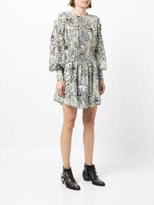 Платье макси с длинными рукавами - белое Iro
