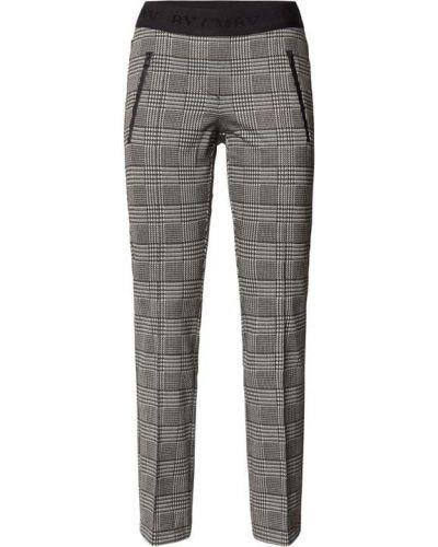 Czarne spodnie z wiskozy Cambio