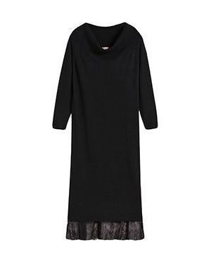 Повседневное платье из вискозы шерстяное Twinset