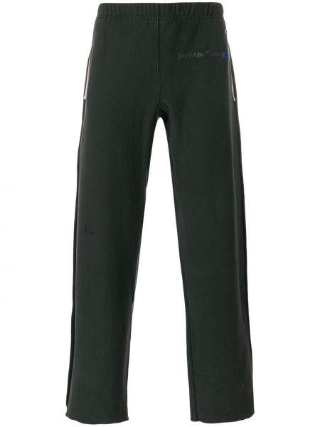 Bawełna bawełna czarny spodnie Off-white