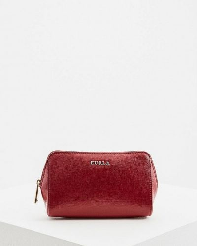 Косметичка бордовый красный Furla