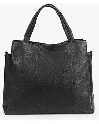 Черная кожаная сумка медведково