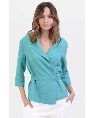 Блузка бирюзовая Lino Russo