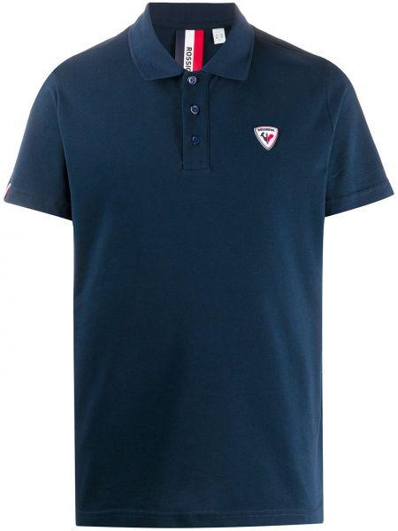 Koszula krótkie z krótkim rękawem z logo prosto Rossignol