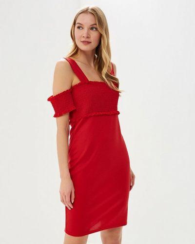 Платье красный Lost Ink.