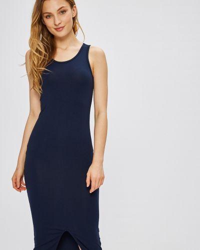 Темно-синее платье миди Miss Poem