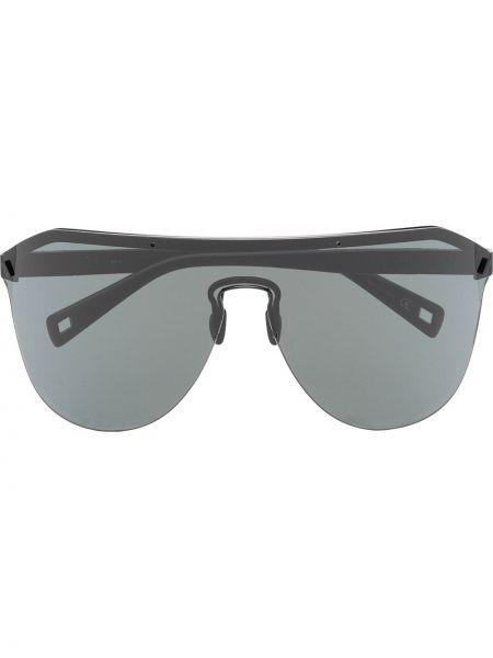 Черные солнцезащитные очки металлические Westward Leaning