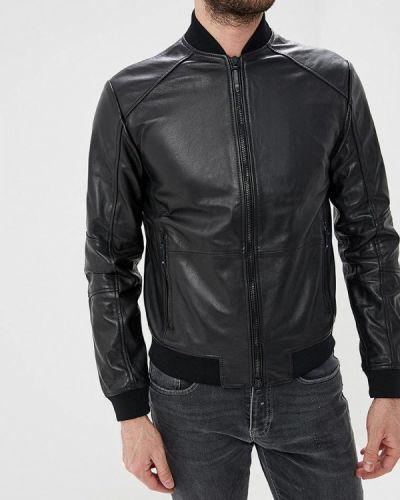 Кожаная куртка черный 2019 Armani Exchange