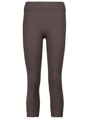 Леггинсы - коричневые Reebok X Victoria Beckham