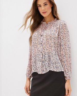 Блузка с длинным рукавом розовая Dorothy Perkins