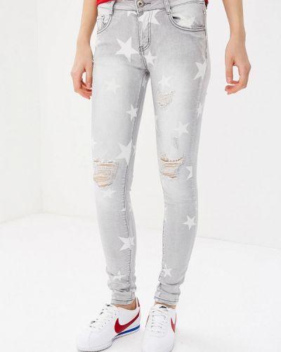 Серые джинсы Regular