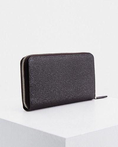 Кожаный портмоне - черный La Martina