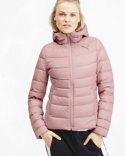 Куртка осенняя розовая Puma