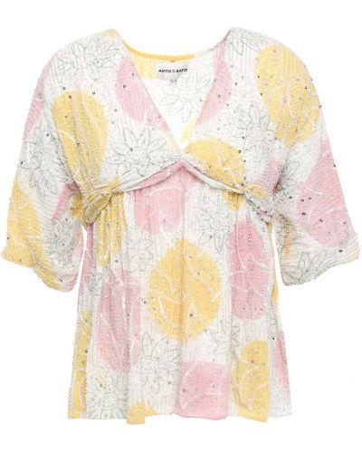 Bluzka z cekinami Antik Batik