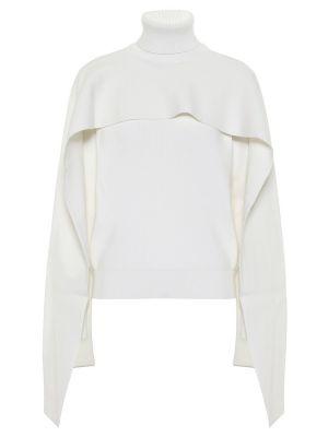 Bawełna bawełna biały sweter Givenchy