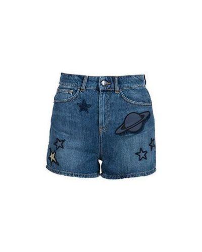 Джинсовые шорты синий Emporio Armani