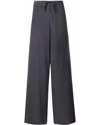 Свободные серые брюки свободного кроя SociÉtÉ Anonyme