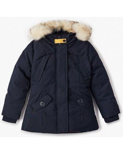 Теплая синяя куртка Paragoose