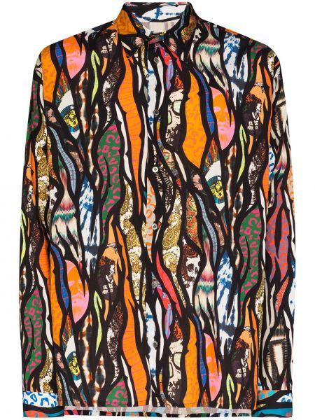 Koszula z nadrukiem przeoczenie Iroquois