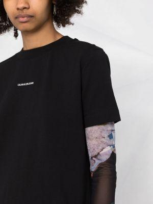 Джинсовое платье - черное Calvin Klein Jeans