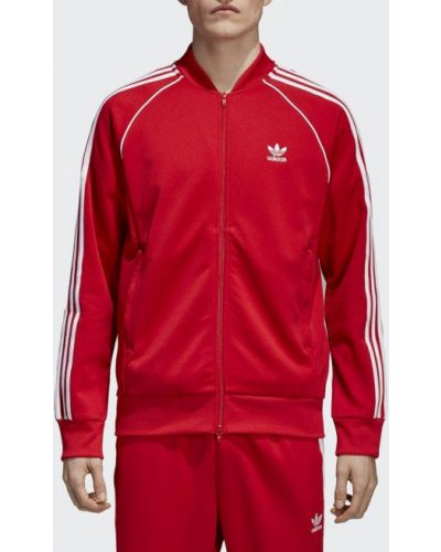 Красная олимпийка Adidas Originals