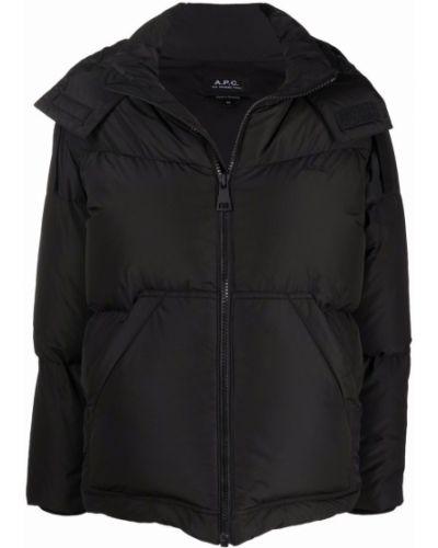 Стеганая куртка - черная A.p.c.