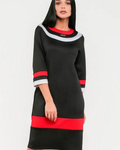 Платье миди - черное Modniy Oazis
