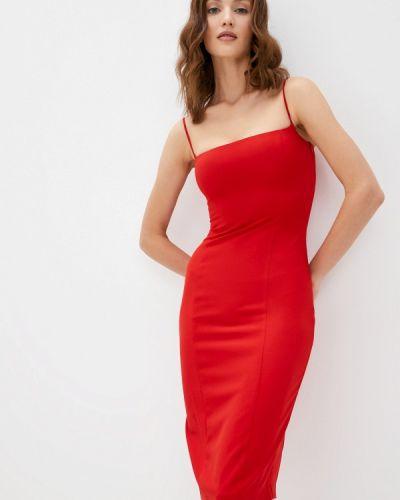 Платье-комбинация - красное Moru