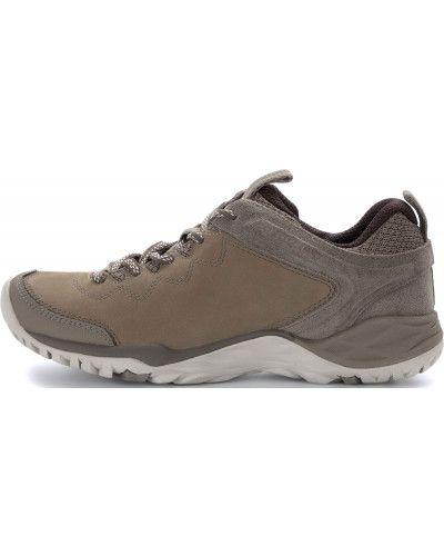 Кожаные полуботинки на шнуровке бежевые Merrell