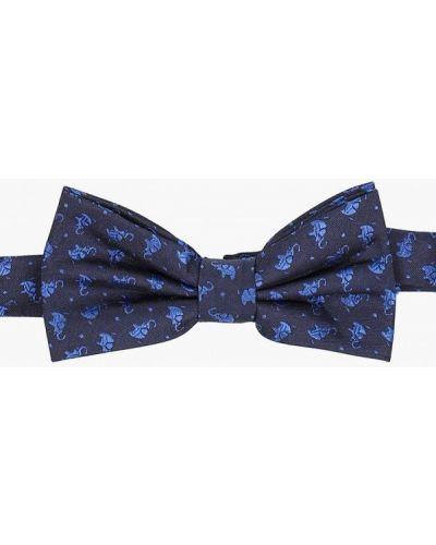 Китайский синий с бабочкой галстук осенний Cleverly