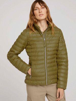Утепленная куртка - хаки Tom Tailor