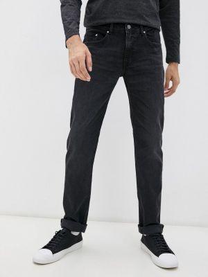 Черные зимние джинсы Karl Lagerfeld